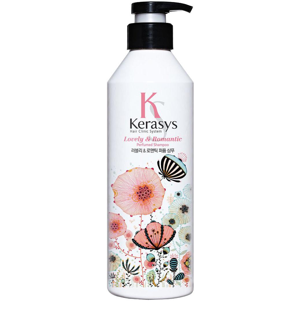 KeraSys Шампунь для волос Романтик Perfume Lovely & Romantic, 400 мл