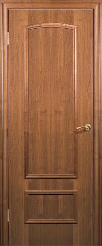 Дверь ДГ 201 (тёмный орех, глухая CPL), фабрика Краснодеревщик