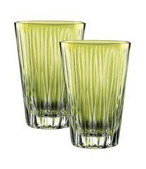 Набор стаканов 2шт 360мл Nachtmann Sixties Lines Kiwi