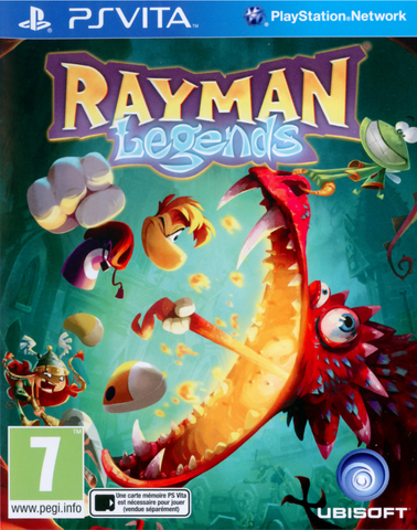 Sony PS Vita Rayman Legends (русская версия)
