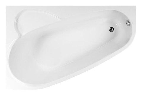 Акриловая ванна VAGNERPLAST SELENA 160 Left