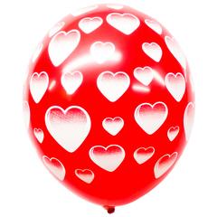 Воздушный шар 101 Сердце