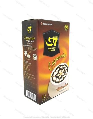 Вьетнамский растворимый кофе G7 Капучино Мока, 12 пак.