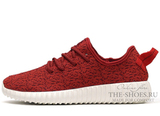 Кроссовки Мужские Adidas Originals Yeezy 350 Boost Red White