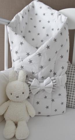 Демисезонное одеяло - конверт на выписку Звезды