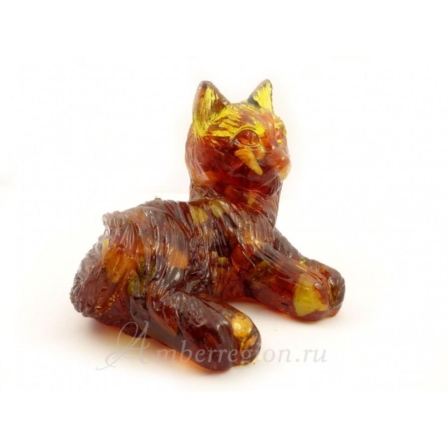 Янтарный котик