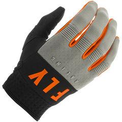 Перчатки FLY Racing F-16 Размер: XXL/12 Серые/Чёрные/Оранжевые (2020)