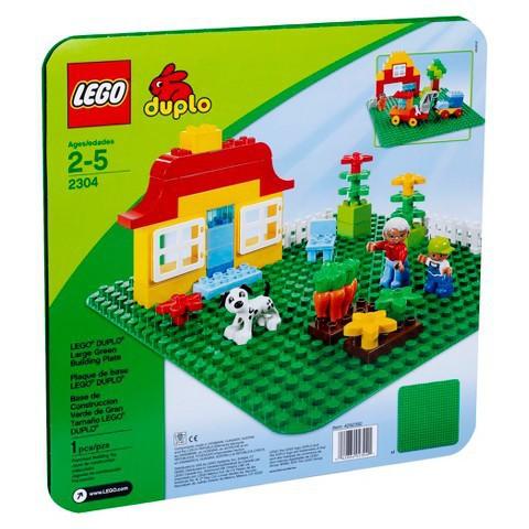 LEGO Duplo: Строительная зеленая пластина 2304