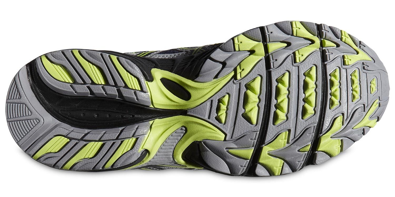 Подростковые кроссовки внедорожники Asics Gel-Venture 4 gs (C404N 4990) фото подошва