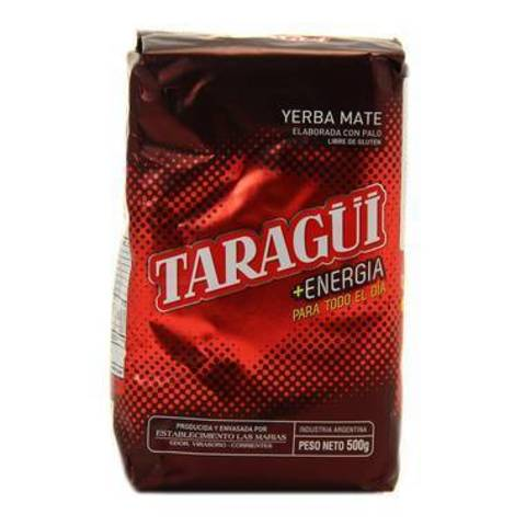 Чай травяной Йерба мате Taragui, Mas Energia 500 г