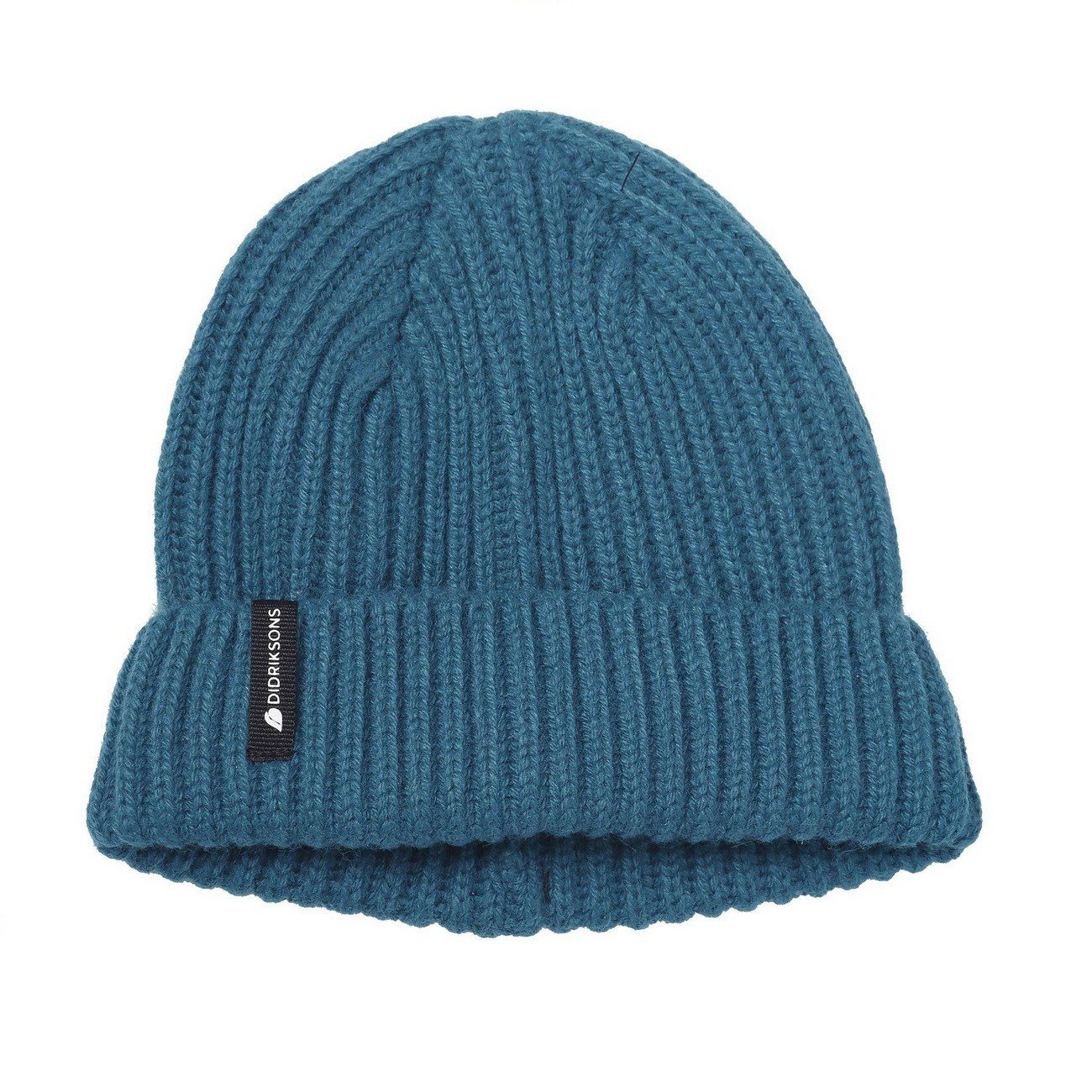 шапка Didriksons Nilson Knitted port blue