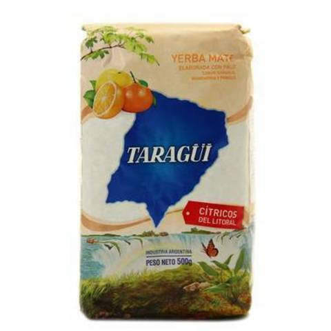 Чай травяной Йерба мате Taragui с цитрусом, 500 г