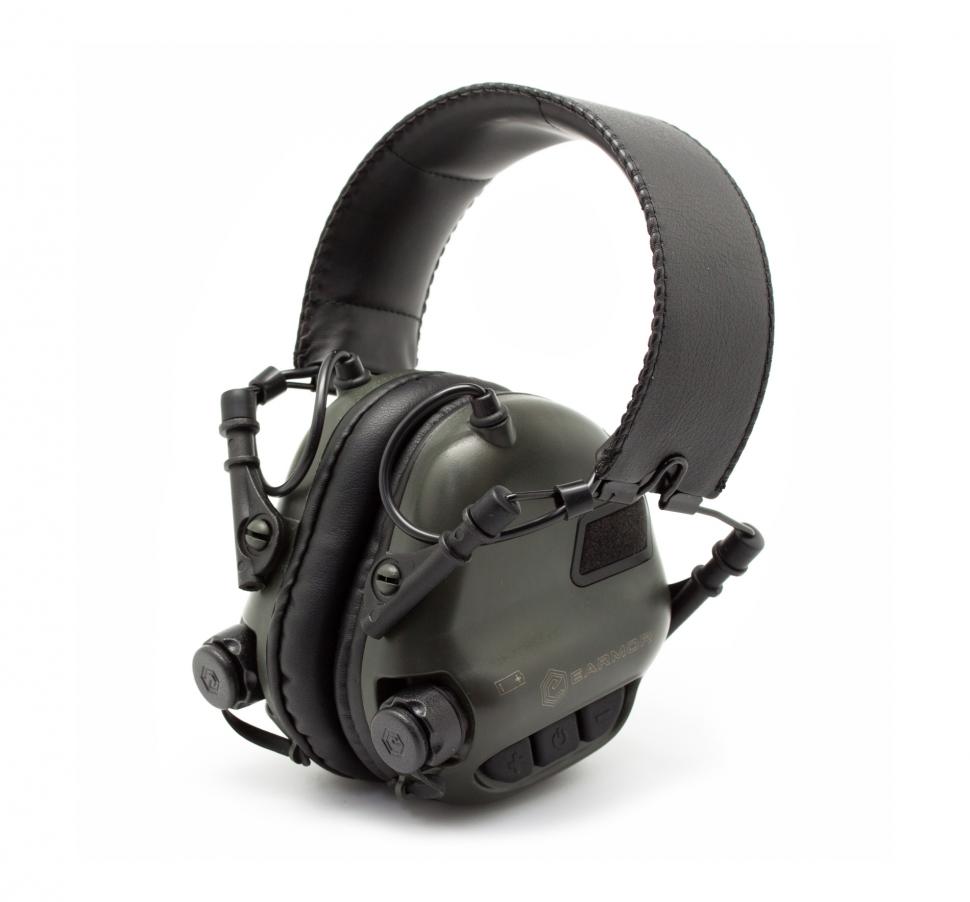 Наушники стрелковые активные EARMOR M31 (22-82 ДБ)
