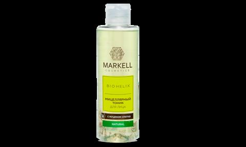 Markell Bio-Helix Мицеллярный тоник для лица с муцином улитки 200мл