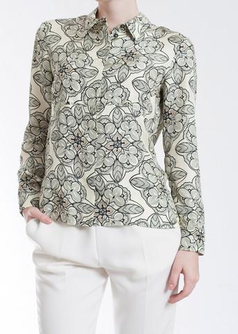 Рубашка из шелка MARNI