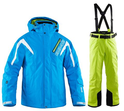 Мужской горнолыжный костюм 8848 Altitude Phantom/Base 67 (lime)