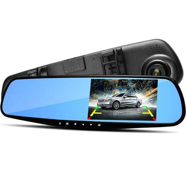 Гаджеты Автомобильный видеорегистратор-зеркало Vehicle Blackbox DVR Full HD videoregistrator.jpg