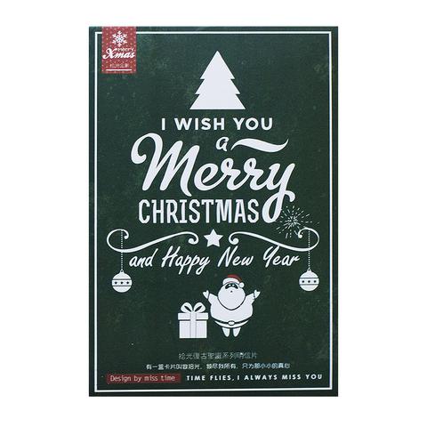 Набор новогодних открыток Kraft