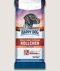 Лакомство для собак Happy Dog Жевательные колбаски с рубцом