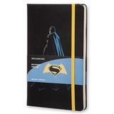 Блокнот Moleskine Limited Batman vs Superman Large 130х210мм 240стр линейка черный Batman (LEBVSAQP060)