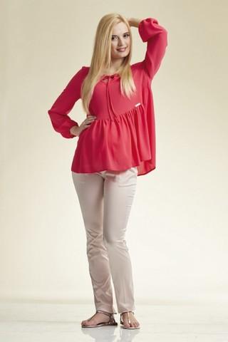 Блузка 02250 розовый