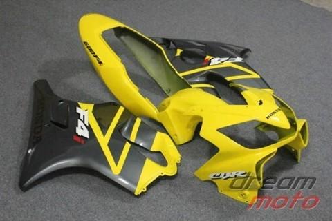 Комплект пластика для мотоцикла Honda CBR 600 F4i 04-07 желто-серый заводской