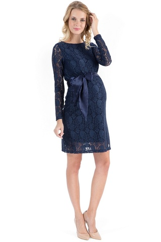 Платье 03728 синий