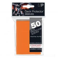 Ultra Pro - Оранжевые протекторы 50 штук