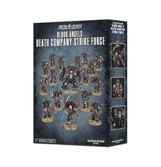 Blood Angels Death Company Strike Force. Коробка