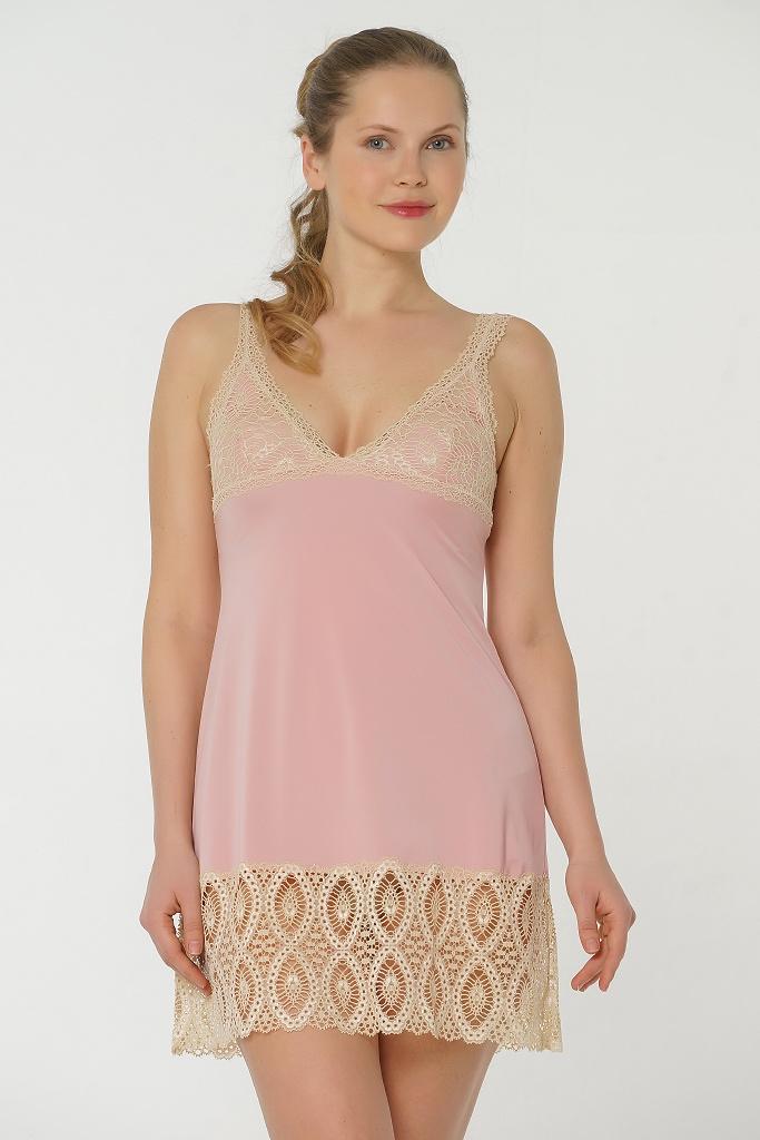Короткая ночная сорочка Valery (Домашние платья и ночные сорочки)
