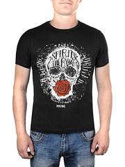 17603-2 футболка мужская, черная