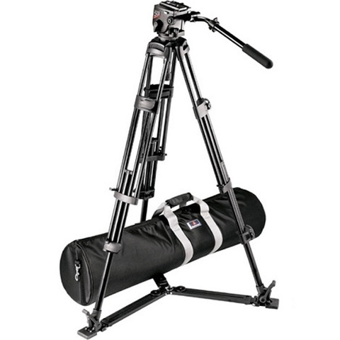 Штатив Manfrotto 525P Video System Tripod With 501HDV Head