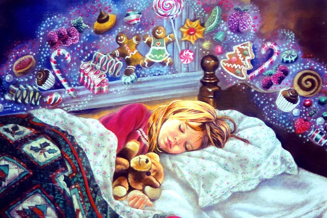Волшебные сны картинки, мишек открытках