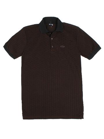 14055-9 поло мужское, коричневое
