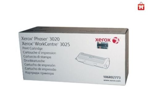 Тонер-картридж Xerox 106R02773 для Xerox Phaser 3020/WC3025. Ресурс 1500 стр.