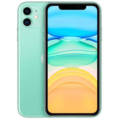 iPhone 11, 256 ГБ, зеленый