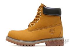 Ботинки Timberland 17061 Waterproof Brown Женские С Мехом