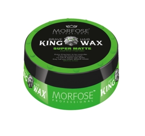 Morfose King Hair Wax Воск для волос Королевский Super Matte 175мл