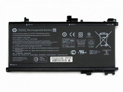Аккумулятор для HP 15-bc TE03XL (11.55V 5150mAh)