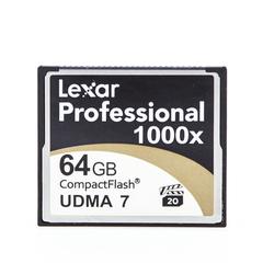 CompactFlash CF 64 Gb Lexar Professional 1000x