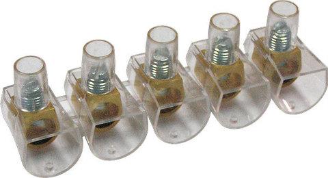 Клеммник концевой изолированный ККИ 4 мм2 (5х1) TDM
