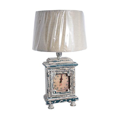 Настольная лампа с часами и шкатулкой