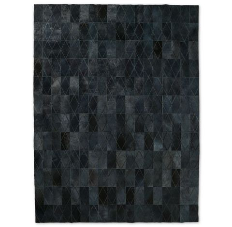 Arlequin Hide Rug - Midnight