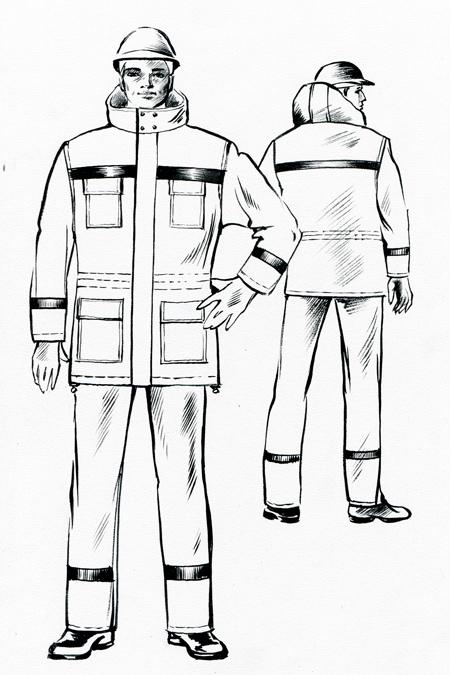 Выкройка утепленного костюма