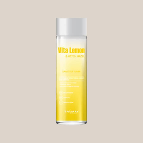 Тонер для лица осветляющий с гамамелисом Trimay Vita Lemon & Witch Hazel Dark Stop Toner