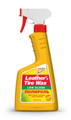 Leather&Tire Wax Low Gloss / Полироль для кожи, резины, пластмассы 330149