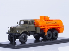 KRAZ-255 AC-8.5 metal chassis khaki-orange Start Scale Models (SSM) 1:43
