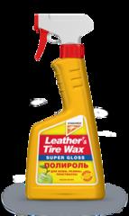 Leather&Tire Wax Super Gloss / Полироль для кожи, резины, пластмассы (355029)