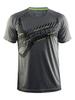 Тренировочная футболка для мужчин Craft со светоотражающим принтом