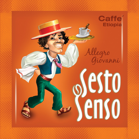 Sesto Senso Кофе в чалде Allegro Giovanni (Сэсто Сэнсо Эфиопия)